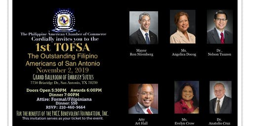 The Outstanding Filipino Americans of San Antonio