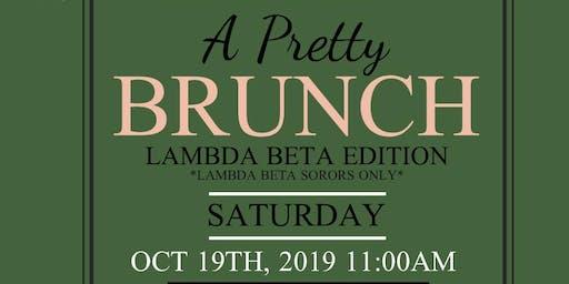 Lambda Beta Homecoming Brunch