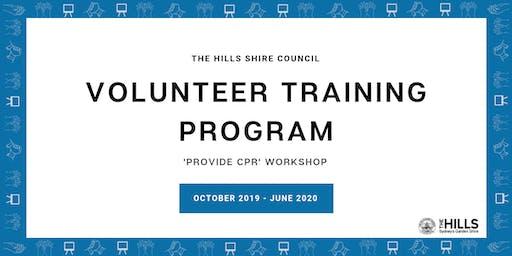 Provide CPR Workshop