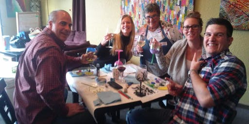 Sip and Paint - Wine Glass Painting Party!
