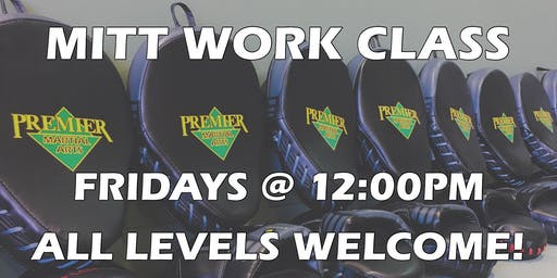 Mittwork Class - ALL LEVELS WELCOME