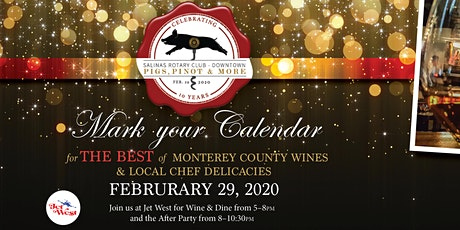 10th Annual Pigs, Pinot & More! tickets