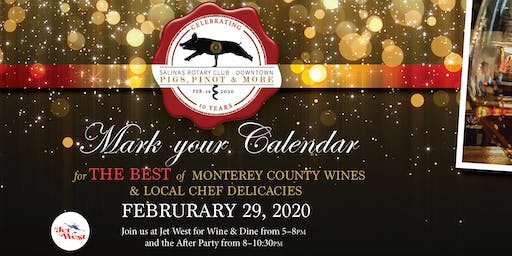 10th Annual Pigs, Pinot & More!