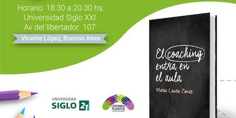 EL COACHING ENTRA EN EL AULA - Presentación del libro y taller entradas