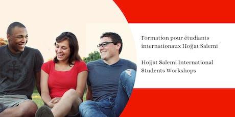 Seventh session - Hojjat Salemi International Students Workshops tickets