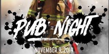 Fire recruit class 151 fundraiser pub night