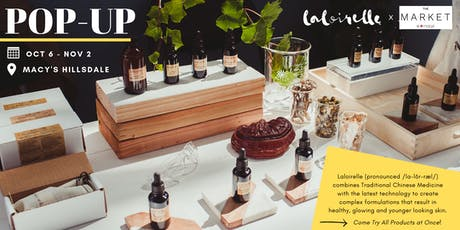 Laloirelle Organic Skin Care Popup Event at The Market @ Macy's tickets