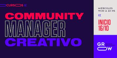 Community Manager Creativo