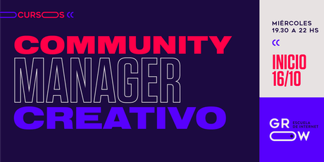 Community Manager Creativo entradas