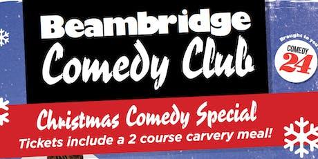 Christmas Comedy Cracker & 2 Course Carvery tickets