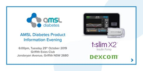 AMSL Diabetes Information Evening - Griffith  tickets