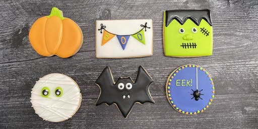 Haloween themed sugar cookie class