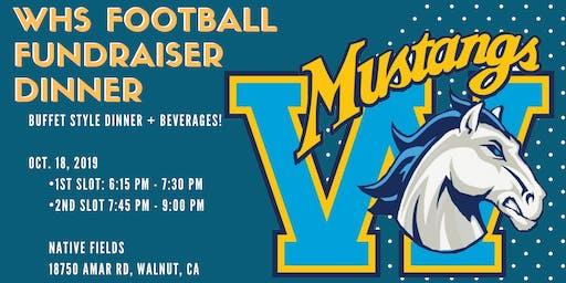 Walnut High School Football Team Fundraiser