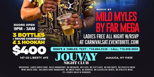 Carnival Saturday @ Jouvay Nightclub