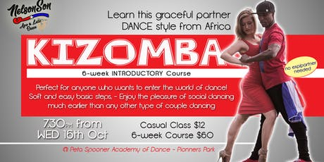 Kizomba Nelson 6-Week Introductory Course [Term 4] tickets