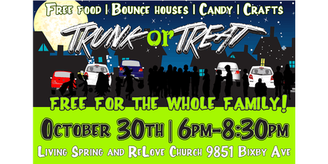 Trunk or Treat- Free for the Whole Family tickets