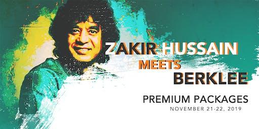 Zakir Hussain Meets Berklee (Premium Packages)