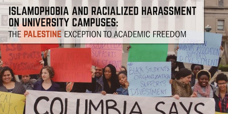 Islamophobia and Racialized Harassment on University Campuses