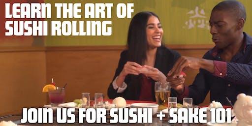 Sushi + Sake 101 at Benihana in The Woodlands