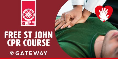 Free CPR with St John tickets