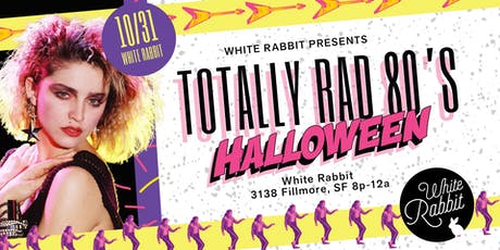 Totally Rad 80's Halloween Party tickets