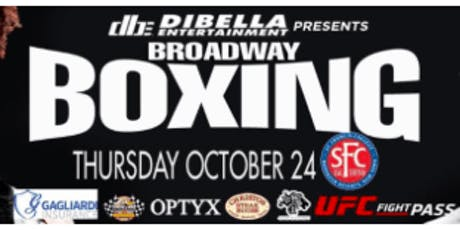 Professional Boxing Match in Brooklyn October 24th tickets