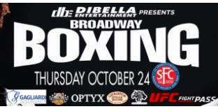 Professional Boxing Match in Brooklyn October 24th
