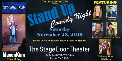 TAG Stand-Up Comedy Night