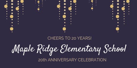Maple Ridge 20th Anniversary Celebration tickets