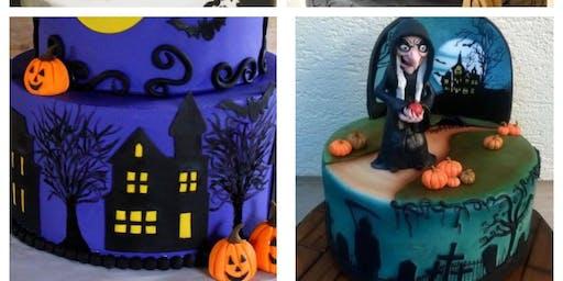 """Candarella Events """"DEAD VELVET"""" Adult Spooky Cake Decorating Workshop!"""