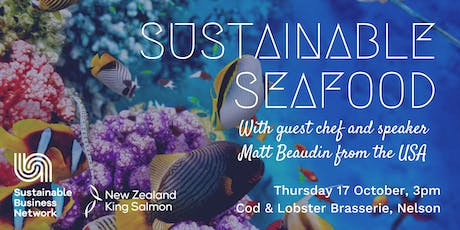Sustainable Seafood - A talk with  Monterey Bay Aquarium chef Matt Beaudin tickets