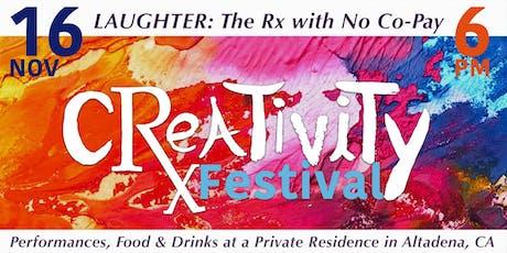 4th CRxEATIVITY Festival tickets