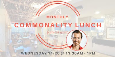 Women's Tech Co.  Commonality Lunch  - featuring Daniel Scott