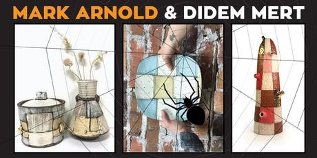 Mark Arnold & Didem Mert Artist Talk & Demo!...and HALLOWEEN PARTY! tickets