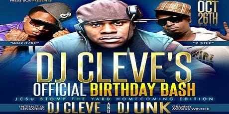 DJ Cleve's Official Birthday Bash tickets