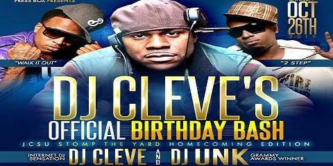 DJ Cleve's Official Birthday Bash