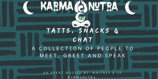 Tatts, Snacks & Chat 2019