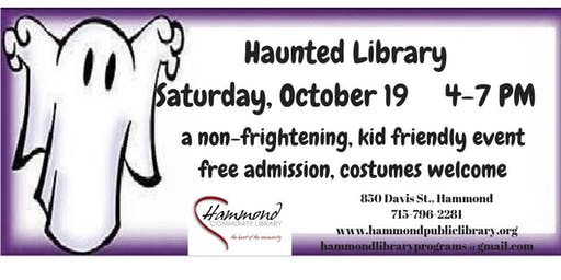 Haunted Library and Trunk-Or-Treat