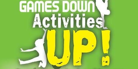 Games Down, Activities Up, Health & Wellness Fair, Breast Cancer Walk 2019 tickets