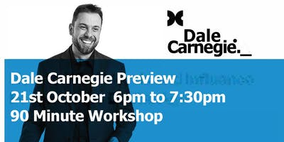 Dale Carnegie Course Preview - Toowoomba Workshop