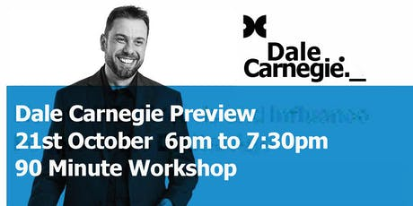 Dale Carnegie Course Preview - Toowoomba Workshop tickets