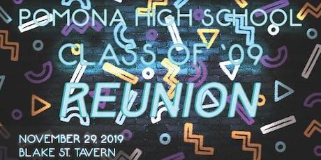 PHS Class of 2009 High School Reunion tickets