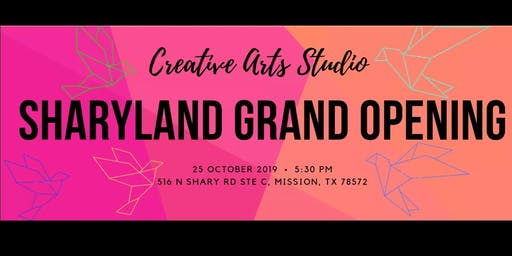 Creative Art Studio-The Grand Opening