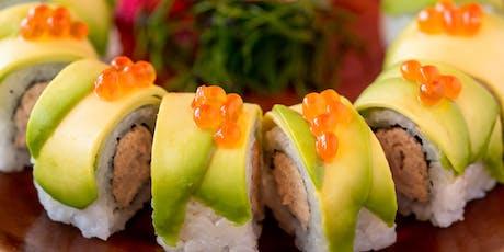 Sushi & Sake Masterclass tickets