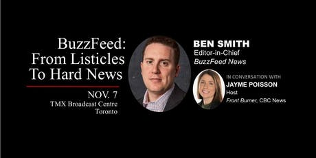 BuzzFeed: From Listicles to Hard News tickets