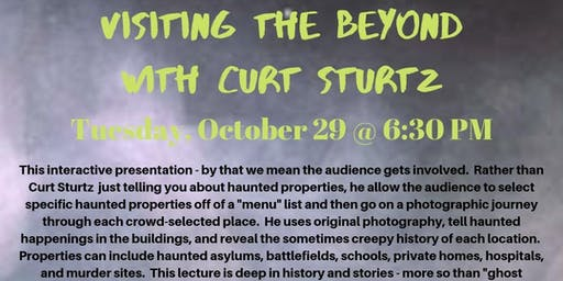 Visiting the Beyond with Curt Sturtz