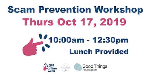 Get Online Week - Scam Prevention