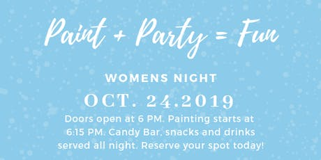 First Baptist Church Of Hartwell Women's Night Paint Party tickets