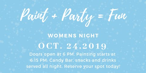 First Baptist Church Of Hartwell Women's Night Paint Party