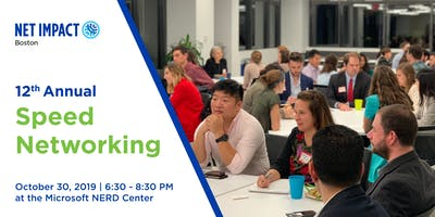 12th  Annual Speed Networking Event